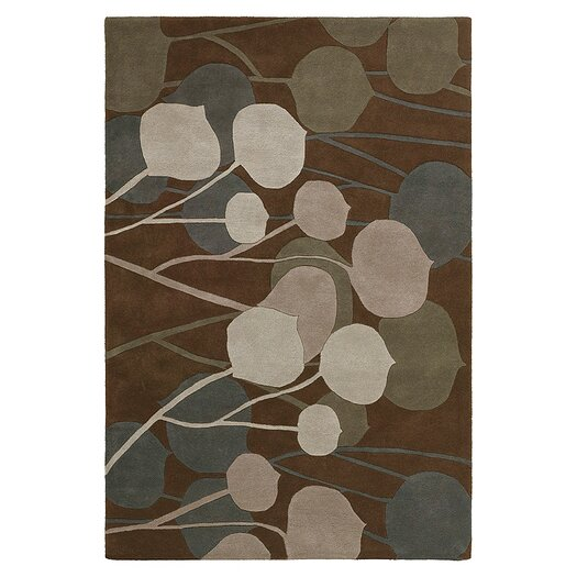 Inhabit Stencil Rug in Consolidation with INH1902