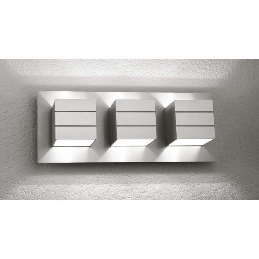 LumenArt Alume 3 Light Wall Sconce