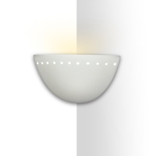 A19 Islands of Light Gran Cyprus 1 Light Corner Wall Sconce