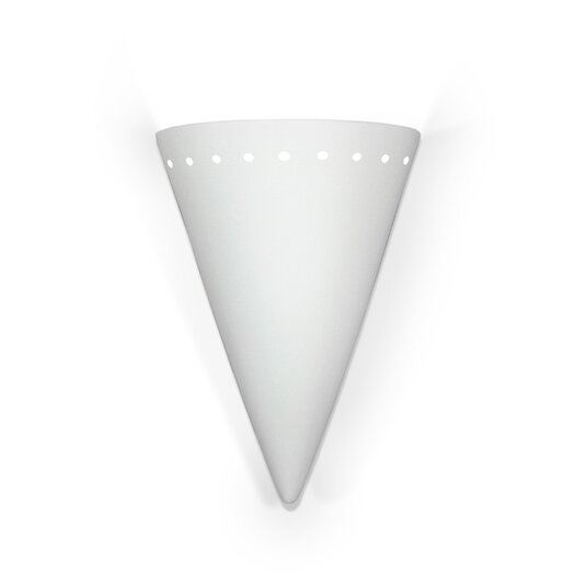 A19 Zealandia 1 Light Wall Sconce
