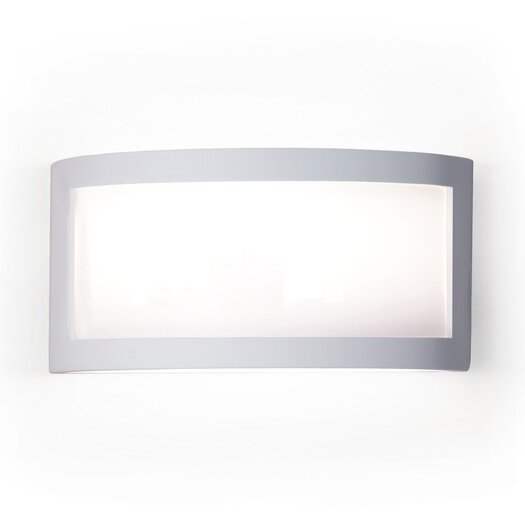 A19 Silhouette Translucency 1 Light Wall Sconce