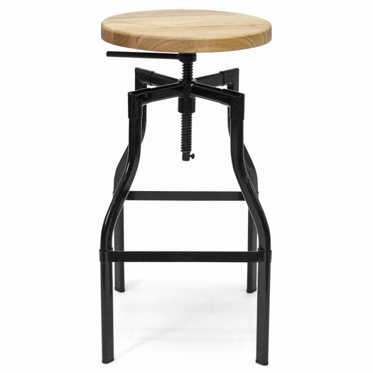 Aeon Furniture Hugo Adjustable Height Swivel Bar Stool