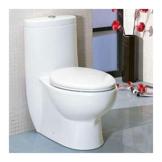Tall Dual Flush Toilet 1 Piece Product Photo