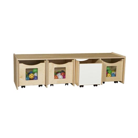 Wood Designs Storage Bench