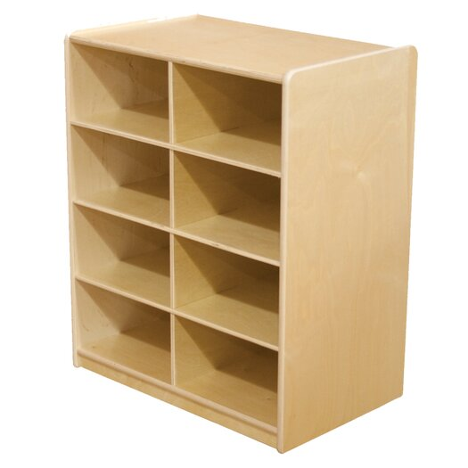 Wood Designs 8 Compartment Cubby