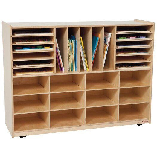 Wood Designs 29 Compartment Cubby