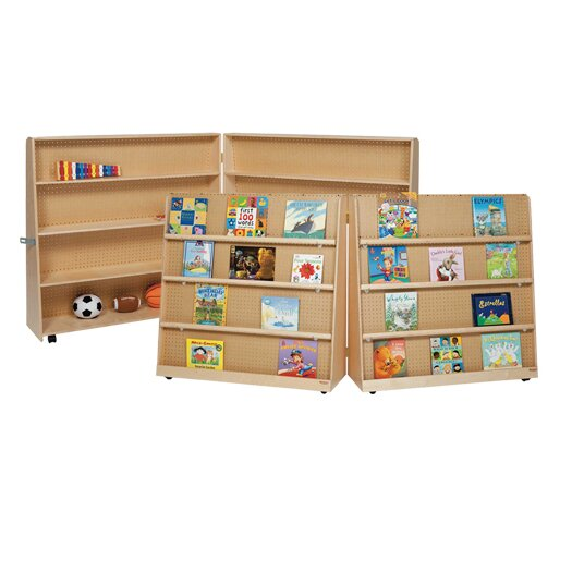 Wood Designs Folding Double Sided Book Display