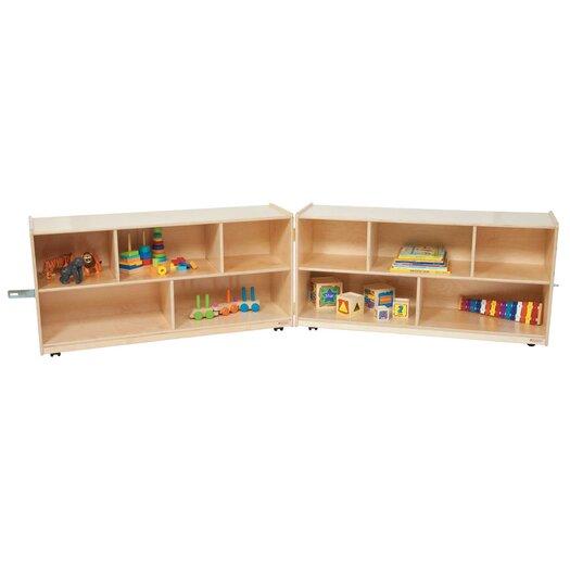 Wood Designs Extra Deep Folding Storage Unit