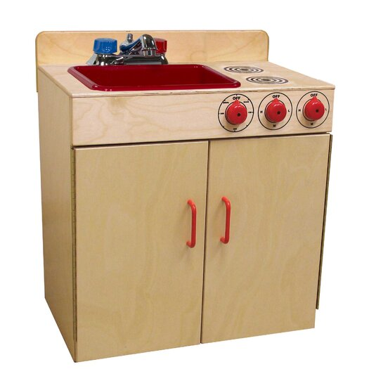 Wood Designs Sink and Stove Set