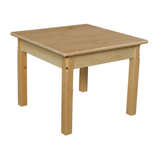 """Wood Designs 24"""" Square Classroom Table"""
