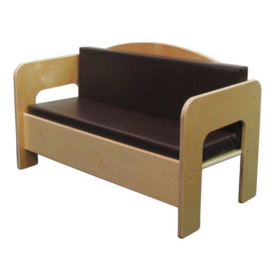 Wood Designs Natural Environment Kid's Sofa