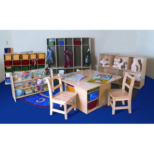 Wood Designs 7 Piece Classroom Storage Set