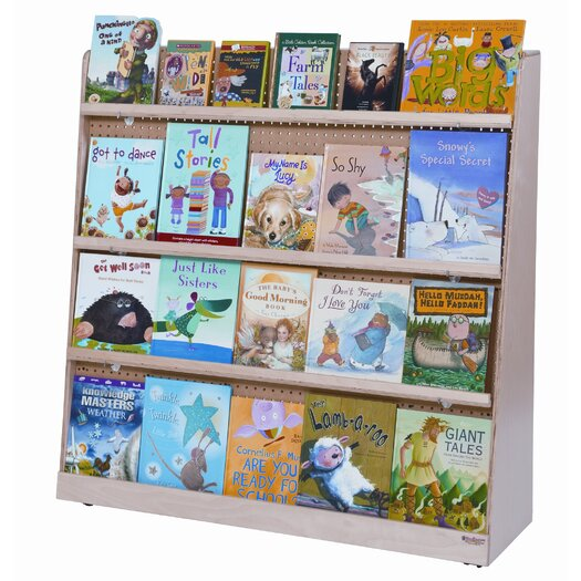 Wood Designs Jumbo Double Sided Book Display