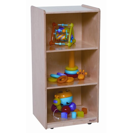 """Wood Designs Mobile Mini 36"""" Standard Bookcase"""