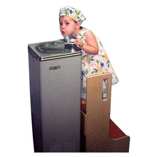 Wood Designs Healthy Kids 2-Step Step-Up-N-Wash Step Stool