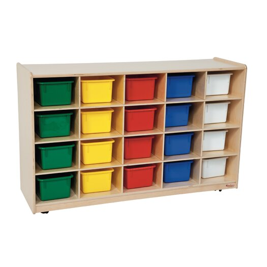 Wood Designs Contender 20 Compartment Cubby