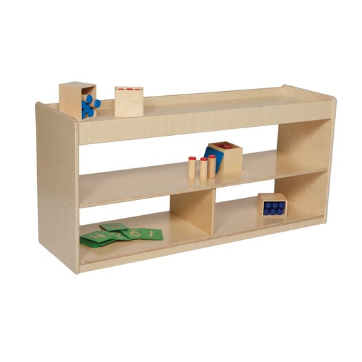 Wood Designs Natural Environment Math/Language Cabinet