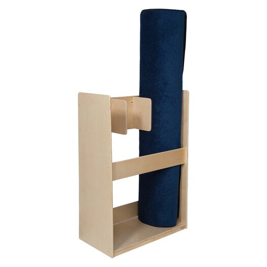 Wood Designs Natural Environment 3 Section Rug Holder