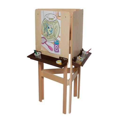 Wood Designs Marker Tray Board Easel