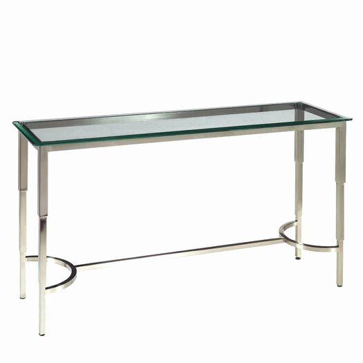 Allan Copley Designs Sheila Rectangular Glass Top Console Table