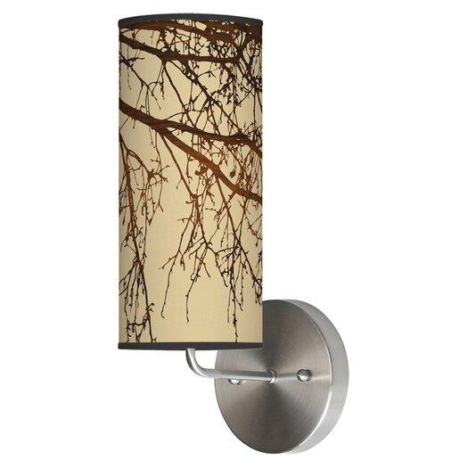 Jef Designs Organic Modern 1 Light Branch  Wall Sconce