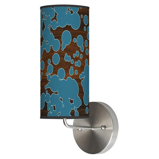 Jef Designs Organic Modern 1 Light Fizzy  Wall Sconce