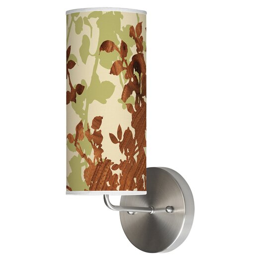 Jef Designs Organic Modern 1 Light Leaf Wall Sconce
