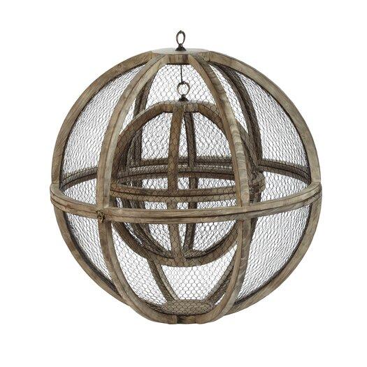 Lazy Susan USA Wire Atlas Sphere Sculpture
