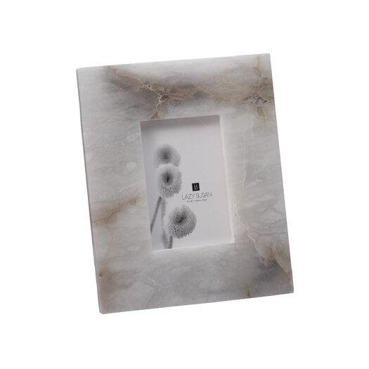 Lazy Susan USA Solid Slab Alabaster Frame