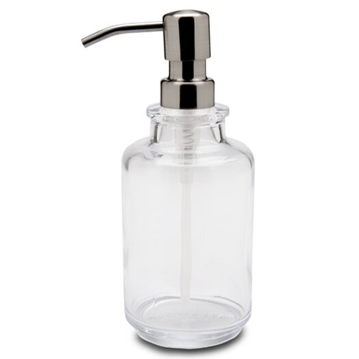 Waterworks Studio Vintage Glass Apothecary Lotion Pump