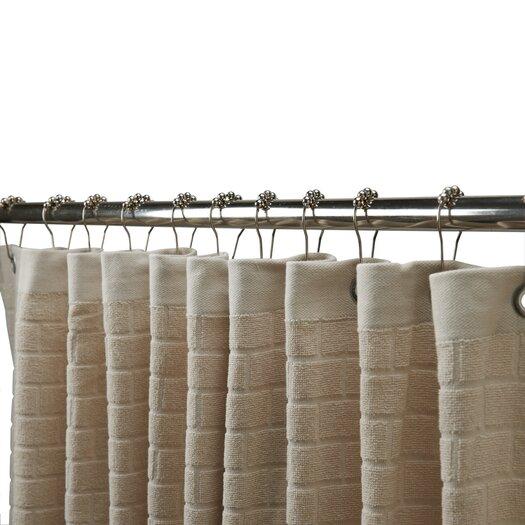 Waterworks Studio Subway Cotton Tile Shower Curtain