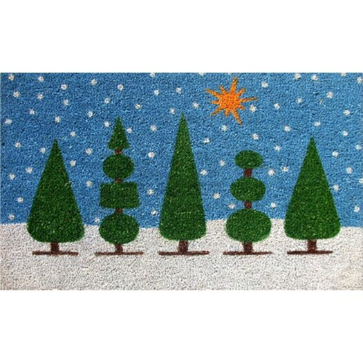 Home & More Christmas Doormat