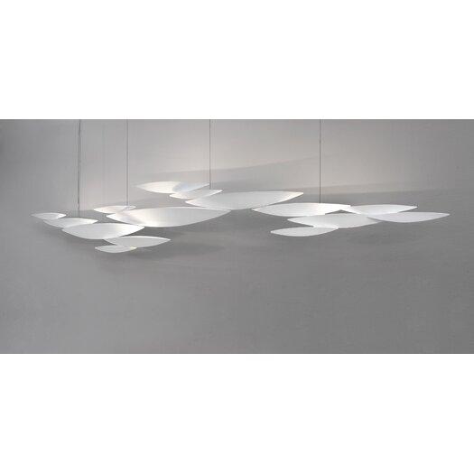 Terzani I Lucci Argentati 10 Light Inverted Pendant
