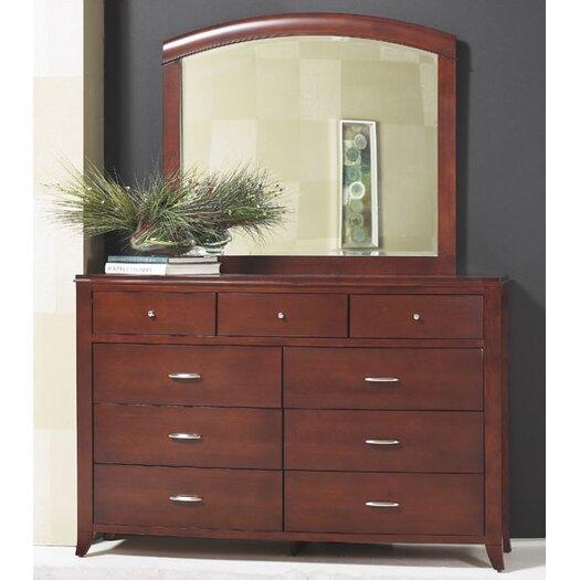 Modus Furniture Brighton Sleigh Customizable Bedroom Set