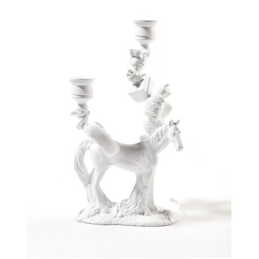 Artecnica Horse in Wonderland Metal Candelabra