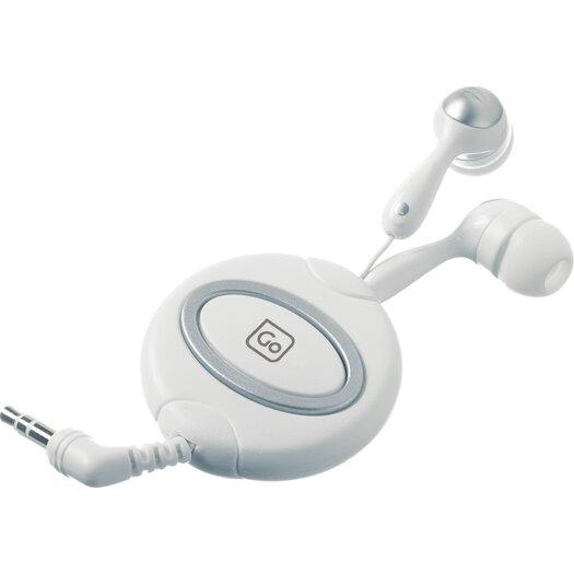 Go Travel Retractable In Ear Headphones