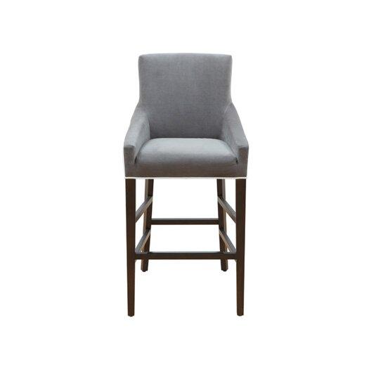 Sunpan Modern 5west Vincent 30 Quot Bar Stool With Cushion