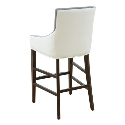 Sunpan Modern 5west Vincent 30 Quot Bar Stool With Cushion