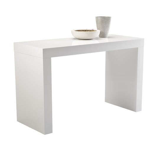 Sunpan Modern Ikon Faro C-Shape Counter Height Dining Table