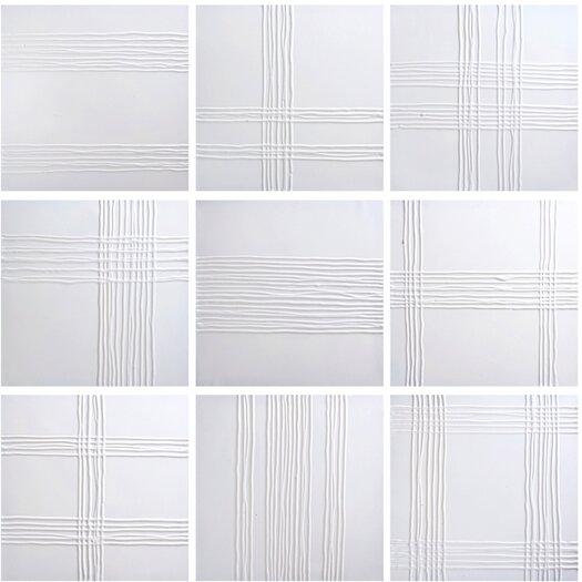 Sunpan Modern Ikon White Collage