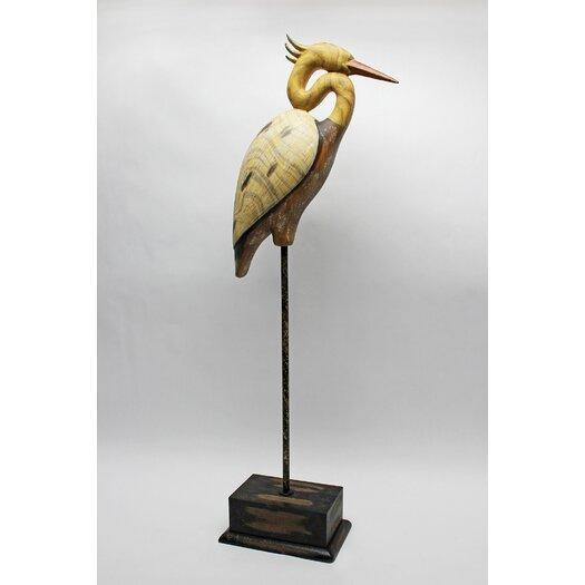 Vita V Home Shore Bird Crane Statue
