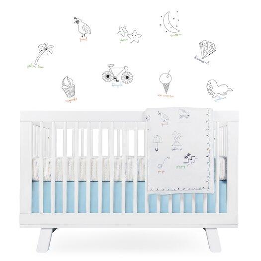 babyletto Alphabets Crib Skirt