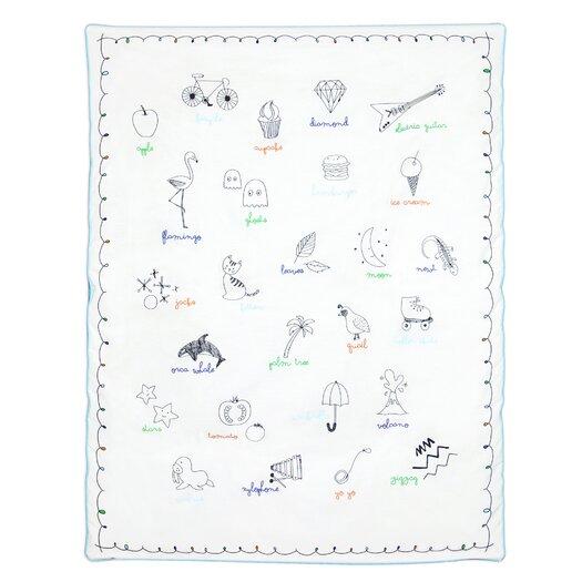 babyletto Alphabets Play Blanket