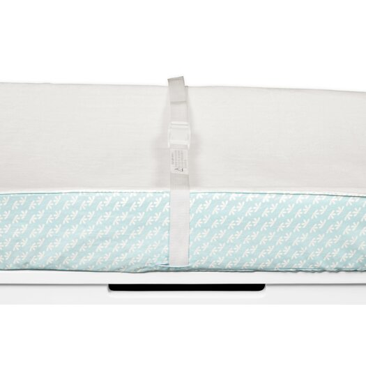 Fleeting Flora Contour Changing Pad Cover