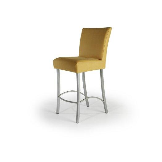 "Createch Angle 26"" Bar Stool with Cushion"