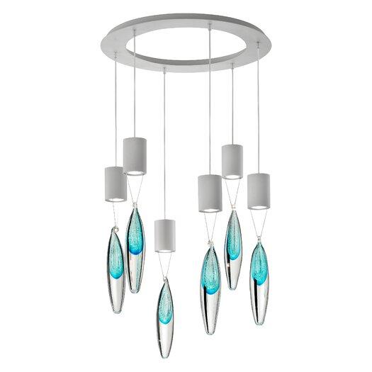 Masiero Anima 6 Light Cluster Pendant