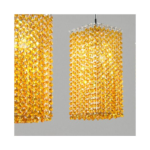 Masiero Aurea 1 Light Tall Pendant