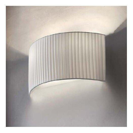 Masiero Tessuti Round 1 Light Wall Sconce