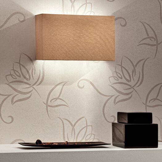 Masiero Tessuti Square 2 Light Wall Sconce