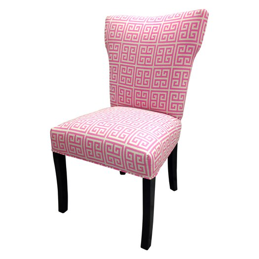 Sole Designs Pinky Chain Wingback Cotton Slipper Chairs